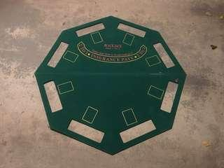 USED Foldable Blackjack /Poker Table Top