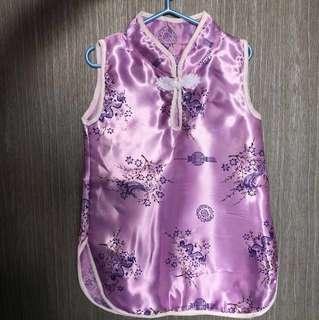 CNY toddler dress