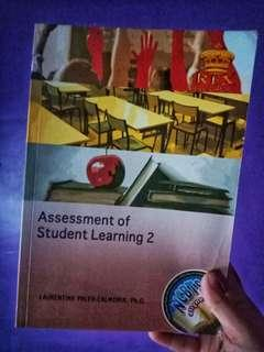ASSESSMENT OF STUDENT LEARNING 2 by Laurentina Calmorin