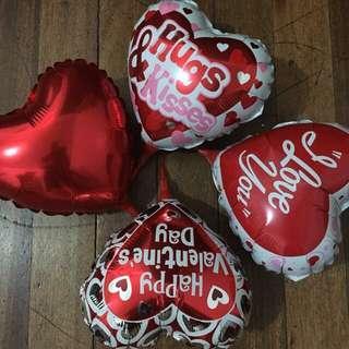 Valentine Foil Balloons