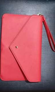 Mango Leather Envelope