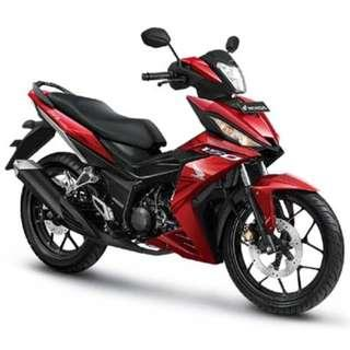 Honda RS150 Arrive D/P $500 or $0 With out insurance (Terms and conditions apply. Pls call 67468582 De Xing Motor Pte Ltd Blk 3006 Ubi Road 1 #01-356 S 408700.