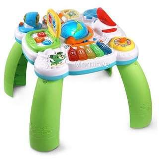 Ready Stock! *USA Imported* Brand New Leapfrog Little Office Learning Center Green(Bilingual) (Best Baby Toddler Newborn Shower Birthday Present Gift Set) *Early Development Learning*