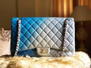 Authentic Chanel Jumbo Ombre