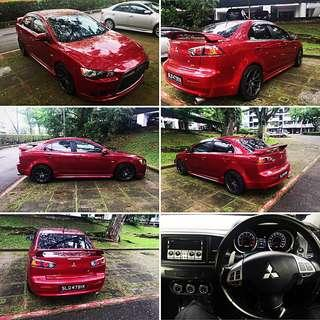 Mitsubishi Lancer ex2.0 for rent