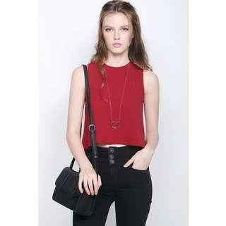 (CNY) BN Fayth Dakota Top Red Size M
