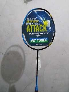 Raket Yonex Carbon Import Astrox77