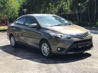 Toyota Vios G Spec Tahun 2015
