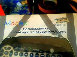 Wireless 3D Mouse Keyboard