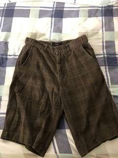 Brown bermudas