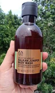 The Body Shop Balkan Juniper Body Wash