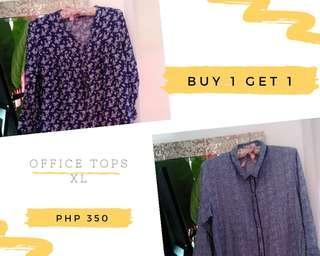 Buy 1 Get 1 Office Tops