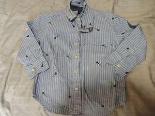 (Free NM)Used Once GAP Boy Shirt for 3-4years old