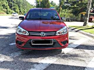 SEWA BELI  PROTON SAGA VVT 1.3 AUTO YEAR 2017 MONTHLY RM 457 BALANCE 7 YEARS + ROADTAX DEC 2019 MILEAGE LOW TIPTOP CONDITION  DP KLIK wasap.my/60133524312/saga17