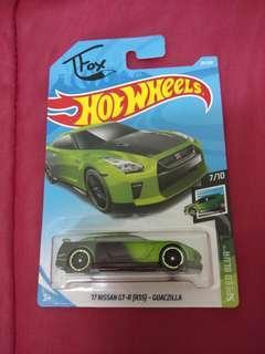 Hotwheels Nissan GTR 35