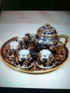 Vintage Display Porcelain Tea Set