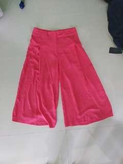 Zara kullot pink + kaos enjoy