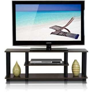 "Furinno Turn-N-Tube 3-Tier TV Stand for up to 55"" TV"