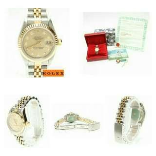 Rolex Datejust Ladies Big Dial