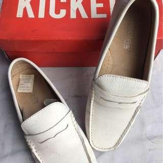KICKERS 8203-Passeli White