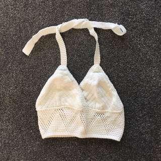 Topshop Crochet Top