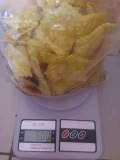 keripik bawang cemilan gurih renyah