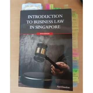 Introduction to business law in Singapore 5th edition