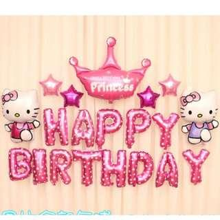 🚚 (In Stock)Hello Kitty Birthday Party Decoration Set