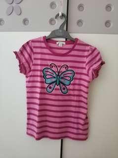 Shirt butterfly