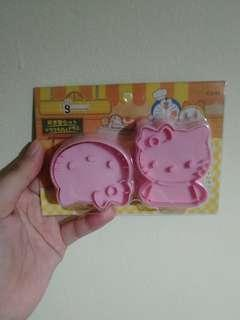 Hello kitty cookie maker