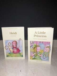 NTU HL3003 Film and Literature (Classics): The Little Princess and Heidi