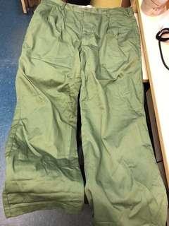 童軍制服長褲