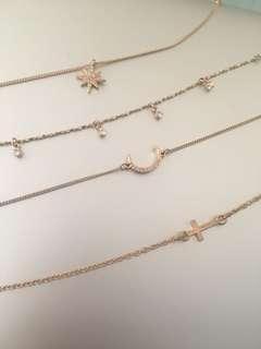 Bracelets, anklets