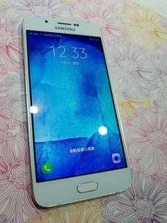 🚚 new screen !三星SAMSUNG Galaxy A8【32g】白色