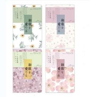 4pc A5 Notebooks