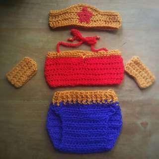 Wonderwoman Crochet Costume