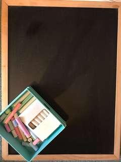 ⭐️Chalkboard & Chalk Bundle