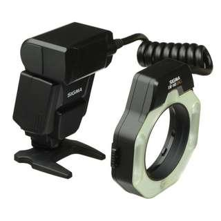 Sigma EM-140 DG Macro Ring Flash for Nikon AF
