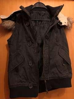 背心夾棉外套