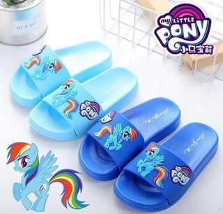 Instock! Brand New Non Slip My Little Pony Flip Flops Slippers