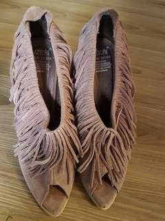 🚚 流蘇魚口鞋