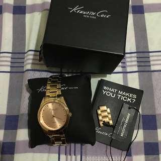 REPRICED Kenneth Cole Diamond Edition Rosegold