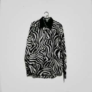 126 Zebra Patterned Shirt