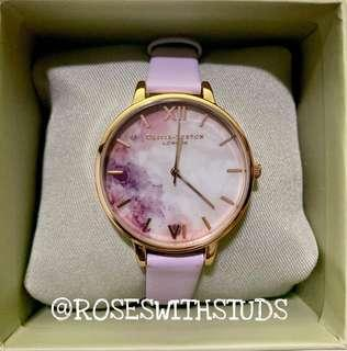 🚚 OLIVIA BURTON SEMI PRECIOUS BLOSSOM & ROSE GOLD 38MM