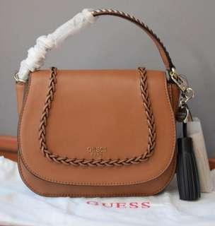 Tas GUESS ORI Brown Crossbody Bag