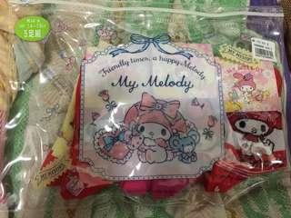 My Melody 童裝襪5對郵寄包郵