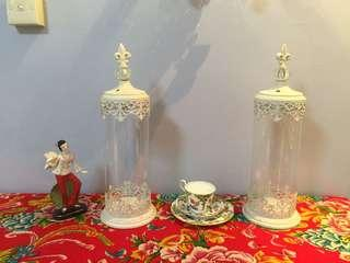 Paris or Victorian style candle holders