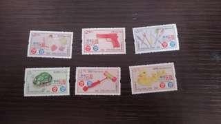 香港玩具郵票
