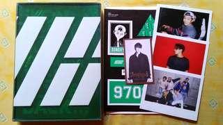 Album iKON Welcome Back Green Version