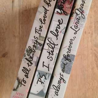 JENNY HAN'S TO ALL THE BOY I'VE LOVED BEFORE SERIES